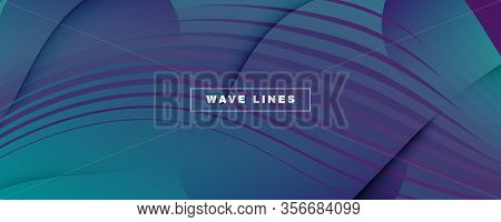 Graphic Fluid. 3d Flow Shape Texture. Color Geometric Brochure. Vibrant Minimal Template. Gradient G