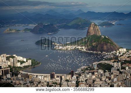 Sugar Loaf Mountain, In Rio De Janeiro, Brazil