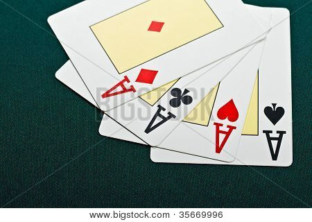 Cards For The Poker.