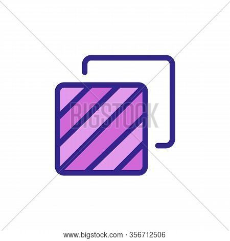 Two Layers Icon Vector. Two Layers Sign. Color Isolated Symbol Illustration