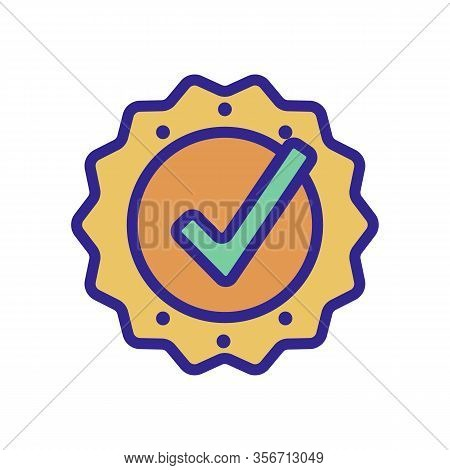 Best Seller Icon Vector. Best Seller Sign. Color Isolated Symbol Illustration