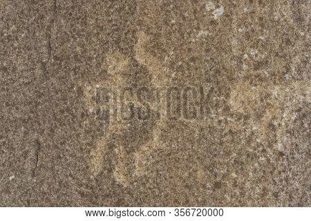 Petroglyphs Man At Langar
