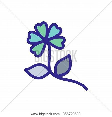 The Plant Is Harmful Icon Vector. The Plant Is Harmful Sign. Color Isolated Symbol Illustration