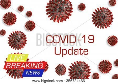 concept images of COVID-19, World Health Organization WHO introduced official name for Coronavirus disease.
