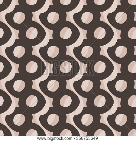 Hand Drawn Whimsical Spotty Dots Seamless Pattern. Vector Wonky Appaloosa Spotted Circle Background.