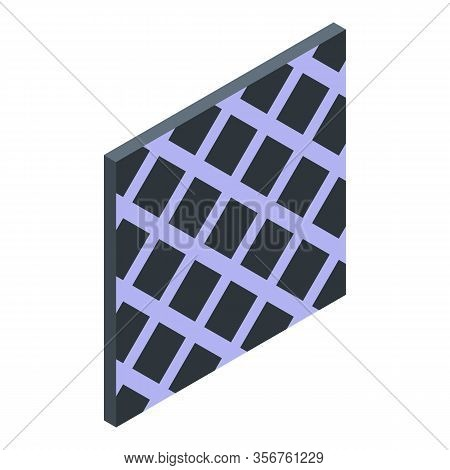 Mozaic Tile Icon. Isometric Of Mozaic Tile Vector Icon For Web Design Isolated On White Background