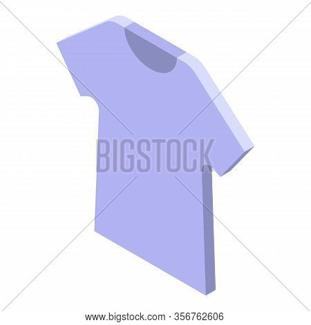 Baby Tshirt Icon. Isometric Of Baby Tshirt Vector Icon For Web Design Isolated On White Background