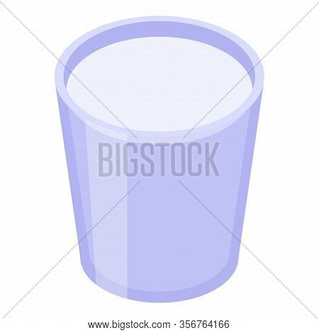 Soursop Glass Juice Icon. Isometric Of Soursop Glass Juice Vector Icon For Web Design Isolated On Wh