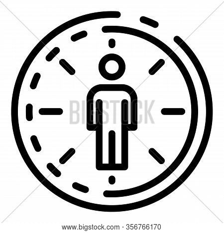 Business Life Skills Icon. Outline Business Life Skills Vector Icon For Web Design Isolated On White
