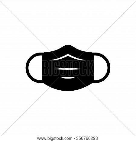 Face Masker Vector Icon Template Design Trendy
