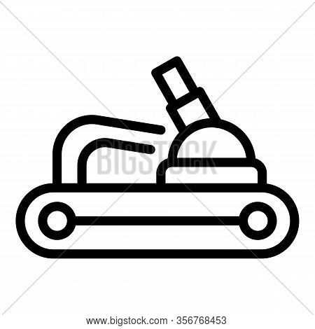 Gasoline Garden Tool Icon. Outline Gasoline Garden Tool Vector Icon For Web Design Isolated On White