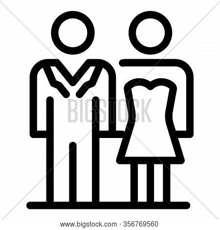 Wedding Daily Ceremony Icon. Outline Wedding Daily Ceremony Vector Icon For Web Design Isolated On W