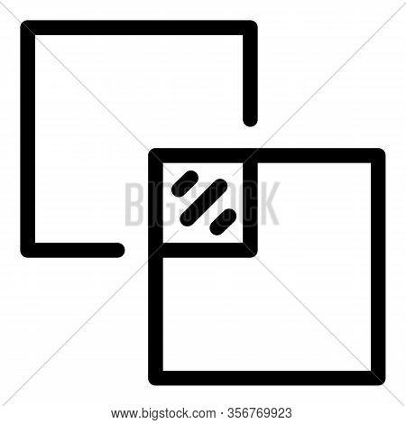 Ceramic Tiler Icon. Outline Ceramic Tiler Vector Icon For Web Design Isolated On White Background