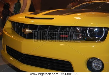 Pasay, Ph - Aug. 19: Chevrolet Camaro At 3rd Philippine International Motor Show On August 19, 2010