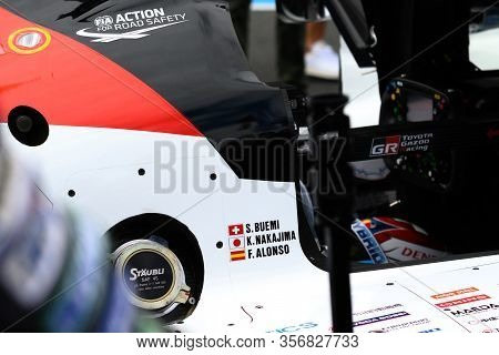 Le Mans / France - June 15-16 2019: 24 Hours Of Le Mans, On The Track Of Race 24 Hours Of Le Mans Be