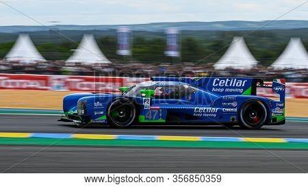 Le Mans / France - June 15-16 2019: 24 Hours Of Le Mans, Cetilar Racing Team, Dallara P217 Lmp2, Roa