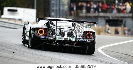 Le Mans / France - June 15-16 2019: 24 Hours Of Le Mans, Ford Chip Ganassi Team Uk  Team, Ford Gt Gt