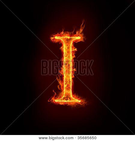 Fire Alphabets, I