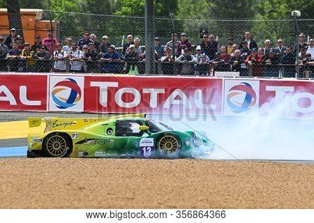 Le Mans / France - June 15-16 2019: 24 Hours Of Le Mans, Inter Europole Competition Team, Ligier Jsp