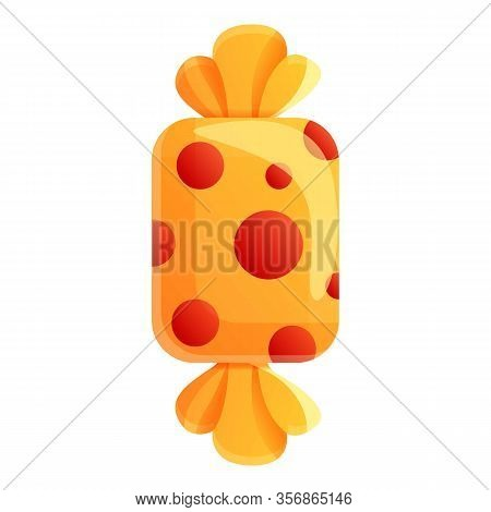 Sweet Candy Icon. Cartoon Of Sweet Candy Vector Icon For Web Design Isolated On White Background