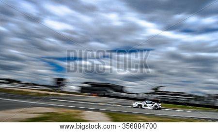 Le Mans / France - June 15-16 2019: 24 Hours Of Le Mans, Porsche Gt Racing Team, Porsche 911 Rsr Gte