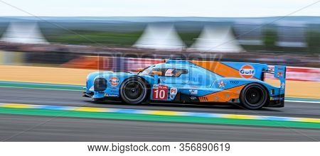 Le Mans / France - June 15-16 2019: 24 Hours Of Le Mans, Dragon Speed Team, Br Engineering Br1 Lmp1,