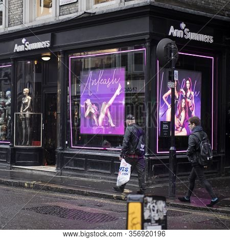 London, Uk - March 20, 2020: Ann Summers Is British Multinational Retailer Company Specialising In S