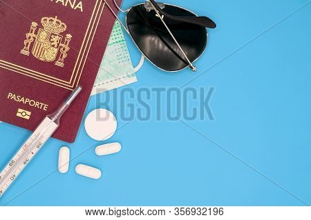 Spain Travel Restriction. Cancel The Planned Trip To Spain Or Restriction To Spanish Travelers Conce