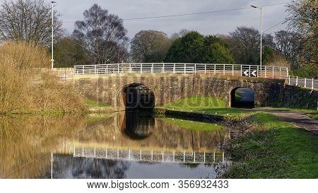 Evening Sun On Prison Bridge Over The Kennet & Avon Canal, Devizes, Wiltshire, Uk  Early 19th Centur