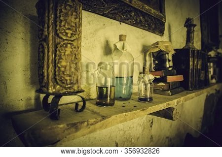 Ancient Witchcraft Items, Witches Detail And Spells