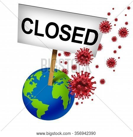 Cancelled Global Events And International Closures Due To Coronavirus Or Covid-19 Cancellation And W