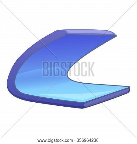 Foldable Phone Icon. Cartoon Of Foldable Phone Vector Icon For Web Design Isolated On White Backgrou
