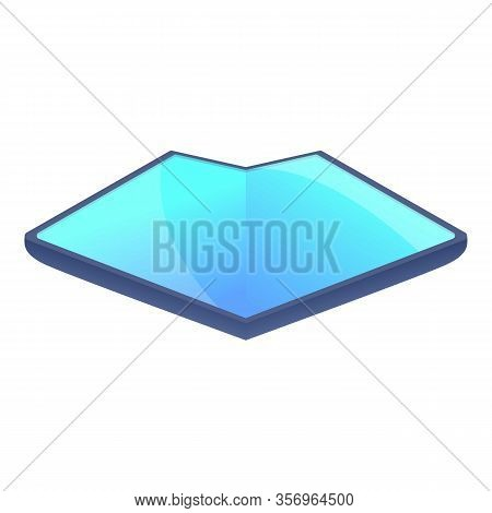 Modern Cellphone Device Icon. Cartoon Of Modern Cellphone Device Vector Icon For Web Design Isolated