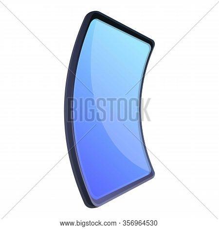 Flex Smartphone Icon. Cartoon Of Flex Smartphone Vector Icon For Web Design Isolated On White Backgr