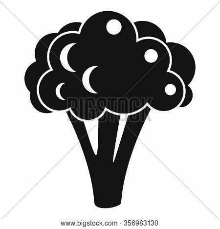 Broccoli Cabbage Icon. Simple Illustration Of Broccoli Cabbage Vector Icon For Web Design Isolated O