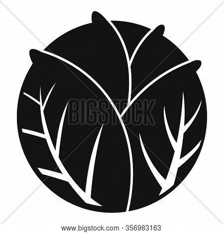 Cooking Cabbage Icon. Simple Illustration Of Cooking Cabbage Vector Icon For Web Design Isolated On