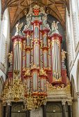 Church organ, in Haarlem , Netherlands, that was played by Mozart. poster