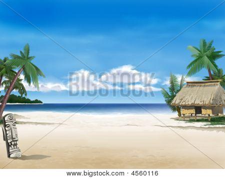 Village On The Shore