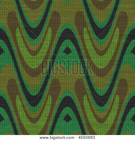 Camoflauge Knit Fabric Seamless