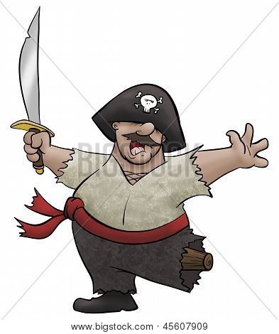 Victorious Pirate