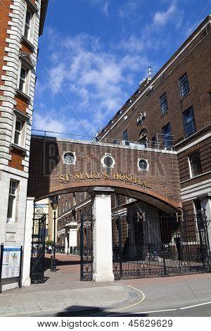 St. Mary's Hospital In Paddington, London