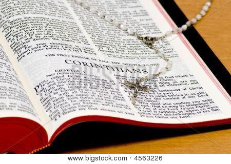 Bible Page - Corinthians