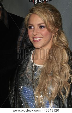 WEST HOLLYWOOD, CA - MAY 8:  Shakira at the NBC's 'The Voice' Season 4 Red Carpet Event at the House of Blues on May 8, 2013 in West Hollywood, California