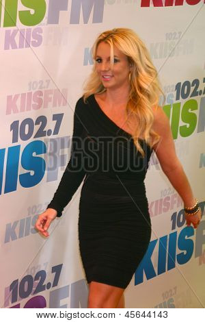 LOS ANGELES - MAY 11:  Britney Spears arrives at the 2013 Wango Tango concert produced by KIIS-FM at the Home Depot Center on May 11, 2013 in Carson, CA