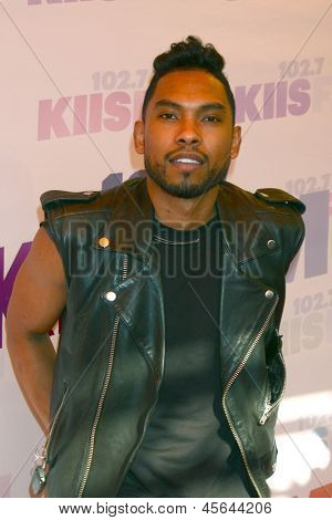 LOS ANGELES - MAY 11:  Miguel attend the 2013 Wango Tango concert produced by KIIS-FM at the Home Depot Center on May 11, 2013 in Carson, CA