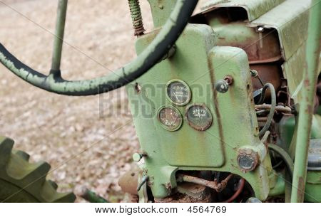 Neglected Antique Tractor