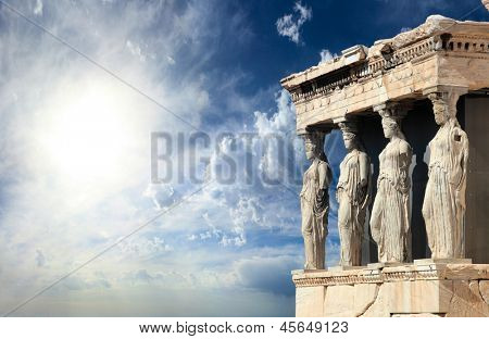 Parthenon in Acropolis, Athens Greece