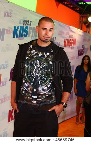 LOS ANGELES - MAY 11:  Afrojack attends the 2013 Wango Tango concert produced by KIIS-FM at the Home Depot Center on May 11, 2013 in Carson, CA