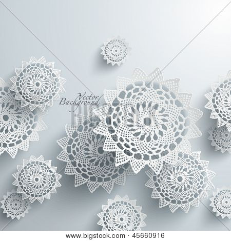 Abstract Lace Graphics