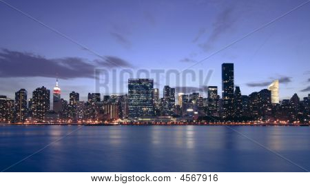New York City Just After Sunset